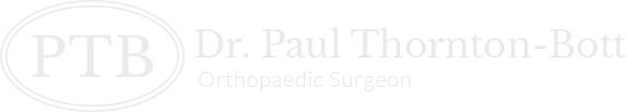 Dr. Paul Thornton-Bott orthopaedic surgeon
